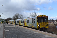 Merseyrail 508139 (Will Swain) Tags: north west train trains rail railway railways transport travel uk britain vehicle vehicles country england english liverpool 17th march 2018 merseyside class 507 508 station seaforth litherland merseyrail 508139