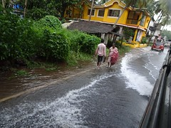 Agassaim Market floods (joegoauk73) Tags: joegoauk goa floods road rains water logging
