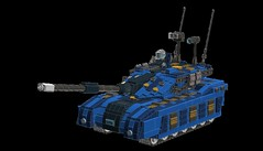 Tank! Tank! Tank! Tank! (demitriusgaouette9991) Tags: lego military army ldd armored powerful railgun vehicle tank deadly future