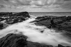 solid as a rock (martininholte) Tags: rock sweden schweden meer sea water