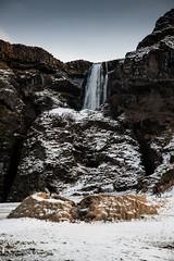 Islande, Skógafoss, 24 (Patrick.Raymond (4M views)) Tags: islande cascade hdr froid gel hiver nikon skogafoss