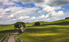 Tranquility (Wildlife & Nature Photography) Tags: peakdistrict england landscape nature canon canon600d outdoors clouds fields hills derbyshire path farmhouse shadows tranquility countrylane rural countryside cloudscape unitedkingdom summer