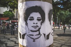 The passion of Claudia | Published in the magazine O Menelick 2º Ato (Nego Júnior) Tags: saopaulo water sky red flower nature blue black street green flowers portrait people art culture light blackwoman sun clouds blackman brasil brazil