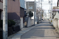 A morning on the holiday (しまむー) Tags: fujifilm xe2 minolta mc rokkor pf 58mm f14 proneg hi holiday pass shimokita hachinohe 下北 八戸