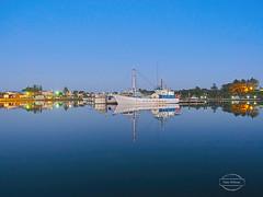 Robe Reflections (Paula McManus) Tags: paulamcmanus olympus olympusomd longexposure nightphotography boat harbour port robe limestonecoast southaustralia