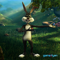 Bunny – 3D Cartoon Character Modeling by Gameyan Game Development Studio (GameYanStudio) Tags: cgi 3dart cartoon charactermodeling 3dcharactermodeling 3dmodeling character modeling artist design studio bunny models designer maya game animation