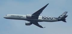 D18942.  Airbus A350-1000 XWB. (Ron Fisher) Tags: aircraft airliner airbus airbusa3501000xwb farnboroughairshow aeroplane airshow
