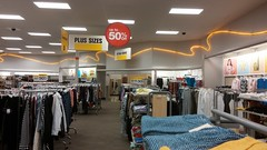 New women's clearance setup (Retail Retell) Tags: horn lake ms target retail desoto county 90s wavy neon t1169 p97 décor store