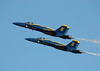 Blue Angels 5 & 6 (corkspotter / Paul Daly) Tags: kefd 211016 blue angels 5 6 pass wings over houston 2016 angel fa18c 163451 163741 airplane sky jet aircraft