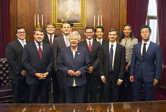 Photo Op With AG Interns  6