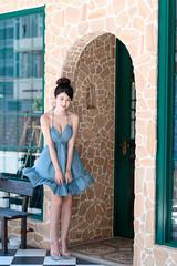DSC_3390 (錢龍) Tags: nikon d850 林珈伊 外拍 性感 sexy 街拍 台中市 中興街 girl beauty 美女 美胸 美腿 長髮 女孩 漂亮