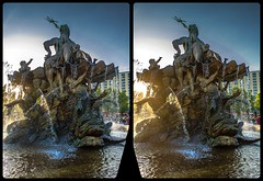 Neptun-Brunnen 3-D / CrossView / Stereoscopy / HDRaw (Stereotron) Tags: berlin spreeathen mitte metropole hauptstadt capital metropolis brandenburg city urban streetphotography citylife architecture crosseye crossview xview pair freeview sidebyside sbs kreuzblick 3d 3dphoto 3dstereo 3rddimension spatial stereo stereo3d stereophoto stereophotography stereoscopic stereoscopy stereotron threedimensional stereoview stereophotomaker stereophotograph 3dpicture 3dimage twin canon eos 550d yongnuo radio transmitter remote control synchron kitlens 1855mm tonemapping hdr hdri raw
