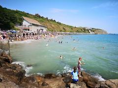 2018-07-FL-192482 (acme london) Tags: 2018 beach folkestone folkestoneharbour hightide kent play playground sand summer
