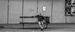 DSCF5133 (::nicolas ferrand simonnot::) Tags: fujinon xf 35 mm f14 r paris   2017 subway people wide angle lens black white blackandwhite street photography streetphotography noir et blanc monochrome dc art bokeh candid portrait depth field dof darkness personnes route panneau