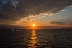 Somewhere over the ocean ... (katrinchen59) Tags: sunset sundown horizon sun clouds oceaon nature sunlight sonnenuntergang abendstimmung horizont sonne sonnenstrahlen wolken ozean sonnenlicht zonsondergang avondzon zonnestralen abendhimmel alaska travelphotography