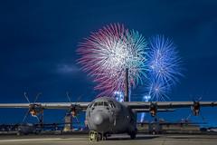 "Yokota Air Base Celebrates 242 Years of America's Independence (#PACOM) Tags: yokotaairbase japan 374thairliftwing pacaf pacom usaf usfj dod 5af c130jsuperhercules fireworks 4thofjuly independenceday america tokyo jp ""usindopacificcommand usindopacom"""