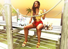 ● 1250 Hello Summer (Mɪss Dɪᴀᴢ) Tags: runaway catwa safira reign halfdeer focusposes emarie vanityevent