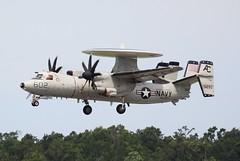Navy E-2C Hawkeye, VAW-123, USS Dwight D. Eisenhower, AC-602, #165293, (hondagl1800) Tags: navye2chawkeye vaw123 ussdwightdeisenhower ac602 165293 aircraft airplane aviation usa usnavy usn unitedstatesnavy navy navyaviation navalaviation navysubhunter submarinehunter subhunter radar aircraftcarrier screwtop navyscrewtop myrtlebeach myrtlebeachsouthcarolina militaryaircraft military militaryaviation blue vehicle militaryvehicle star usseisenhower touchandgo propeller