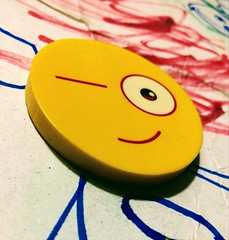 Happy Eraser (zohaibusmann) Tags: erasers eraser rubber smiley smileyface macromondays zohaibusmanphotography poshe550