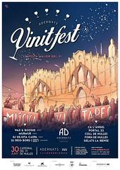 El patrocinador Adernats celebrarà la VII edició del Vinitfest el 30/06