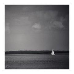 simple sail (GR167) Tags: c41 film analog minimalism bw ruleofthirds monochrome simplicity