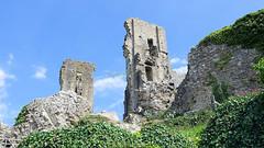 Inside Corfe Castle in June 2018, the Isle of Purbeck, Dorset, England. (samurai2565) Tags: corfecastle castleindorset england purbecks wareham doomsdaybook bankesestate thenationaltrust swanage sandbanksferry studland swanagerailway corfecastlestation museumcorfecastle isleofpurbeck