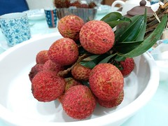 Lychees 荔枝 (:Dex) Tags: lychee fruit sweet leaf leaves