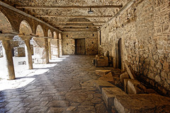 Light In The Saint Sophia Church (Alfred Grupstra) Tags: architecture old history ancient cultures stonematerial famousplace corridor builtstructure arch europe wallbuildingfeature thepast medieval travel street nopeople town indoors ohrid macedonia