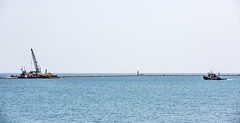 Steelworkers Park Photo Shoot - June 2018 (Rick Drew - 20 million views!) Tags: photo shoot photography canon 5d lake michigan water lakefront lakeshore chicago il illinois waves steelworkers park tug work boat breakwater spud barge