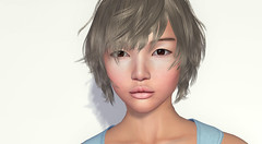 Suzu skin light- Mika shape (Alea Lamont) Tags: ndmd suzu asian skins vista zoe bento head mika shape dura f69 hair