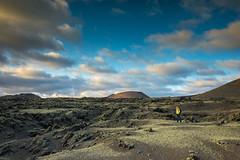 The photographer has landed (PhotoChampions) Tags: planet planetearth volcanoes lanzarote lanzelot lancelot canaryislands kanarischeinseln parque de los volcanes lava landscape landschaft himmel sky clouds wolken blue blau flechten weave spain spanien