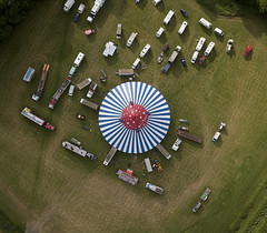 #94 The Circus Came to Town (Timster1973 - thanks for the 15 million views!) Tags: mavic drone uav quadcopter dji mavicprodrone djimavicpro fly up uphigh droneflying tim knifton timster1973 timknifton explore exploration perspective lookdown lookingdown color colour circus clown clowns trucks external exterior bigtop ringmaster outdoor outdoors composition pattern shapes