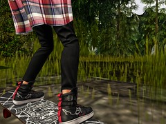 Requiem for Dakini Land (cayceurriah) Tags: sl second life secondlife skateboard goodbye skating grief requiem epitaph flannel shoes sneakers