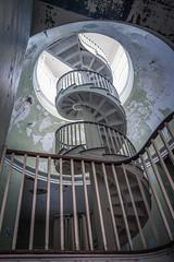 Staircase (The Dying Light) Tags: abandoned abandonedbuilding abandonedasylum urbex urbanexploration urbanexplorationphotography urbanexploring decay forgotten exploration exploring urbexvirginia canon