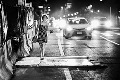 Even She Could Not Stop DC Traffic (Geoff Livingston) Tags: shaw night friday street life real people racism white black city washington dc indifference