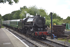 S160 no.5197 at North Weald [5 of 9] (parkgateparker) Tags: eppingongarrailway northweald s160 5197