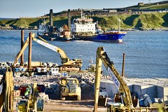 AHEP Nigg Bay - Aberdeen Harbour Scotland - 21/6/2018 (DanoAberdeen) Tags: workboats vessels ships cornelislely goliath ahep construction amateur candid aberdeenscotland danoaberdeen dredging dredger tug buildingsite dragados aberdeenharbour niggbay torry aberdeen grampian scotland 2018 seafarers maritime harbour boats blue offshore psv oilships oilrigs clouds northsea northeastsupplyships northseasupplyships scottishwater geotagged metal sealife lifeatsea autumn summer winter spring seaport sky water abdn abz nikond750 fittie footdee tugboat cargoships anchorhandling cloud porn navigation shipping vessel boat ship sea oil industry pocraquay supplyships northeastscotland shipspotting