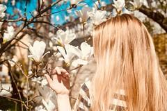 Stunning beautiful Model with golden hair (albertoandaloro) Tags: