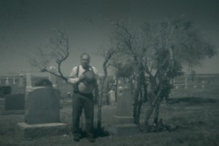 Ghost Town Cemetery Pinhole 9221 A