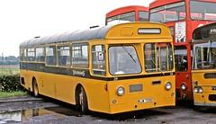 Stevenson's, Uttoxeter: 29 (NWJ709E) at the operator's garage (Mega Anorak) Tags: bus aec swift strachans stevenson uttoxeter spath wolverhamptoncorporation
