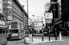 London transport RM2086 on route  2B  Oxford street 1964. (Ledlon89) Tags: londontransport lt lte bus buses londonbus londonbuses 1960s vintagebuses oldlondon