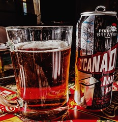 Cheers to the start of the Canada Day long weekend (Sharon's Shotz) Tags: lightroompresets cameraraw lightroomccprocessing procameraapp iphone6s canadadaylongweekend beermug mug ale beer longweekend cottagelife perthbrewery craftbrewery o'canadamapleale don'tdrinkanddrive drinkresponsibly
