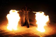 Firewarlock (marcosmallred) Tags: perugia perugia1416 italy italia italie italien umbria umbrien rievocazione medioevo medieval medioevale fire
