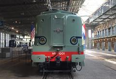 1201 (lex_081) Tags: 1201 ns spoorwegmuseum utrecht turquoise turkoois 1200 20180526 werkspoor baldwin heemaf stichting klassieke locomotieven maliebaan