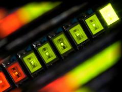 LED There Be Light (Uniquva) Tags: macromondays insideelectronics led macro