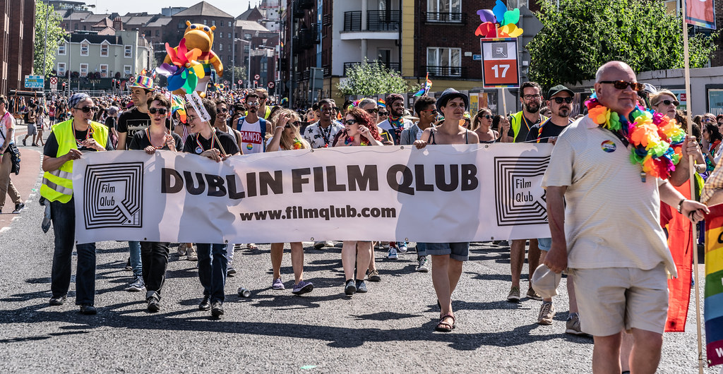 ABOUT SIXTY THOUSAND TOOK PART IN THE DUBLIN LGBTI+ PARADE TODAY[ SATURDAY 30 JUNE 2018] X-100099