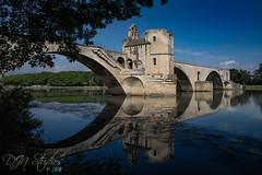 Pont d'Avignon (DJNstudios) Tags: avignon france french bridge south medieval papal palace walled city reflection reflections