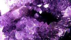 Geode Amethyst (Rose Wilhelmina) Tags: mineral amethyst geode purple cristal améthyste minéraux pierre précieuse violette géode