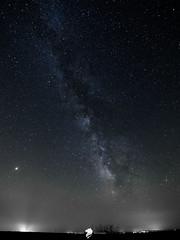 Cloudless. (Alejandro Lobato) Tags: space nikonistasspain astronomy galaxy nightlife night stars noche milkyway colorfull longexposure largaexposición castillayleon spain españa