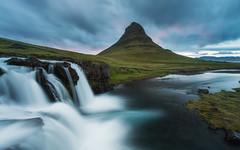 Kirkjufellsfoss (Uldis K) Tags: kirkjufell kirkjufellsfoss waterfall iceland